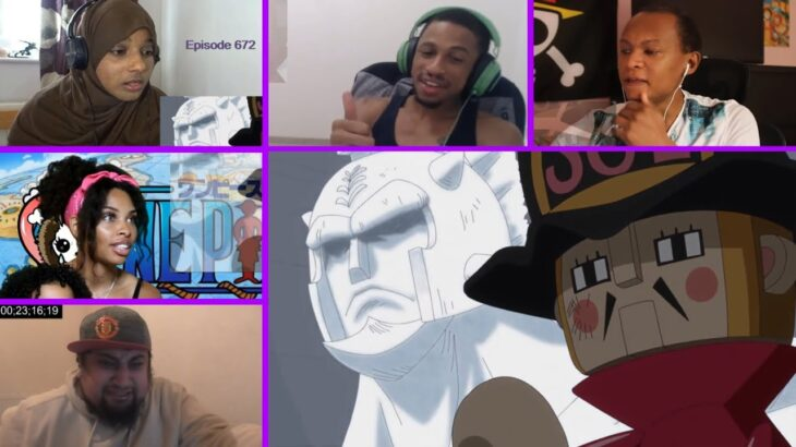 Kyros is Real | Toy Soldier's True Identity Reaction Mashup! | One Piece Episode 672 Reaction Mashup