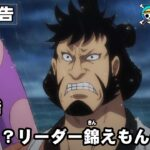ONE PIECE 第979話予告「強運!?リーダー錦えもんの一計」